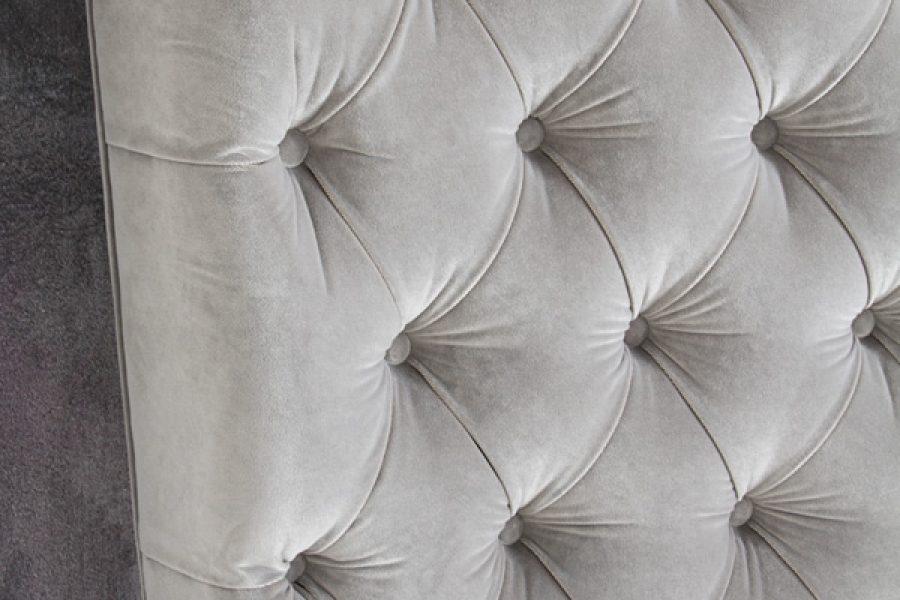 Łóżko tapicerowane styl glamour California dom Białystok.