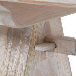 Ławka ogrodowa do stołu Siesta została wykonana z solidnego, bielonego drewna teakowego.Ławka do ogrodu i na taras tworzy idealny zestaw ogrodowy ze stołem Siesta.