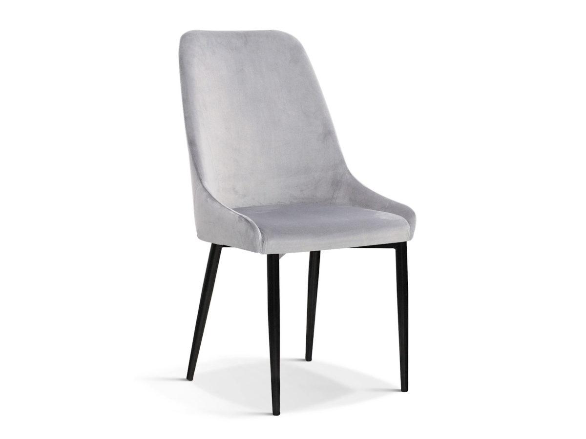 Nowoczesne krzesło tapicerowane szare Massimo. Modne i stylowe krzesła do jadalni dostępne na zamówienie w Pasadena home & deco Białystok.