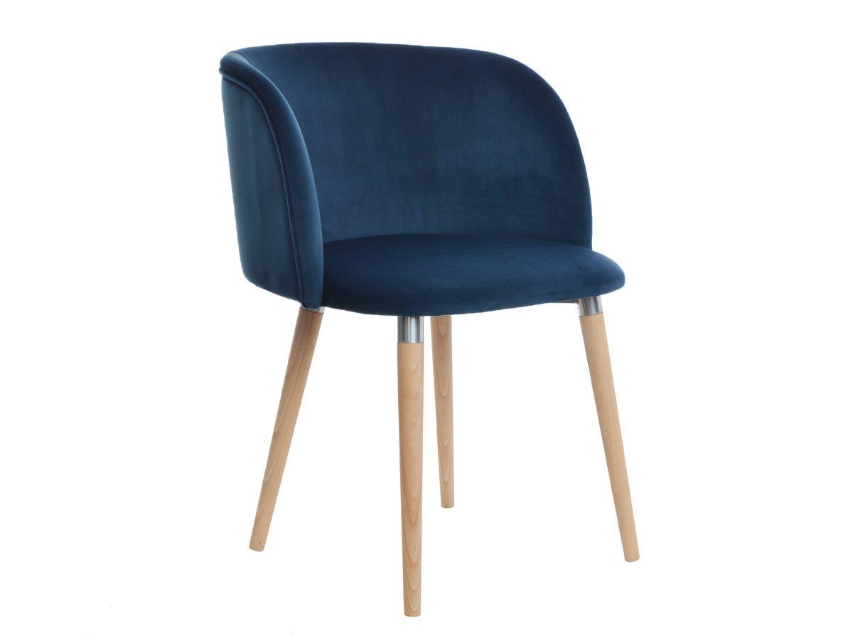 Krzesło tapicerowane aksamitem Maya. Możliwość wyboru tkaniny i koloru nóżek. Krzesła tapicerowane w stylu nowojorskim Białystok.