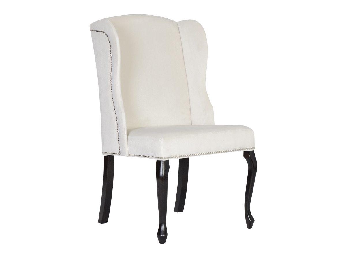 Krzesło tapicerowane z taśmą pineskową Wave. Krzesło do jadalni i kuchni w stylu nowojorskim i glamour. Do wyboru materiał na krzesła Białystok.