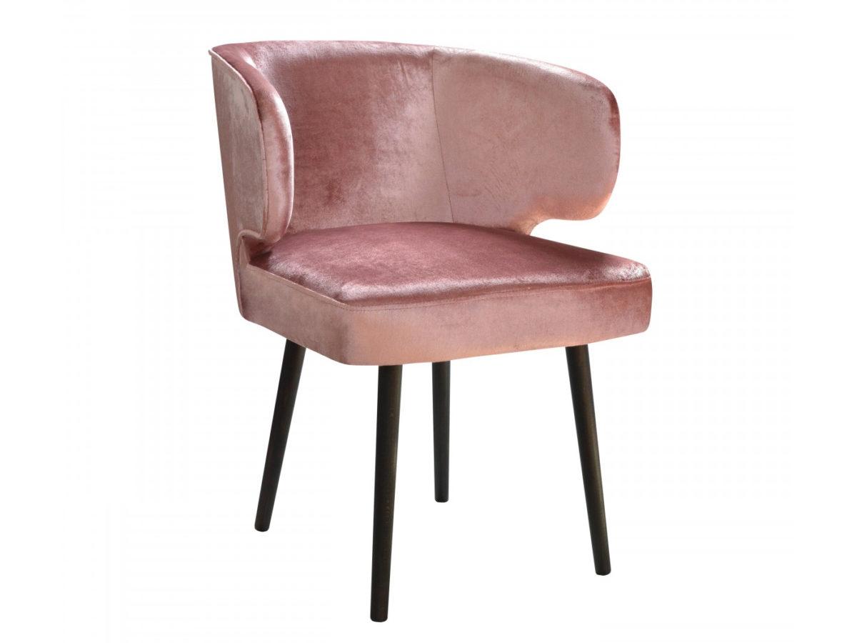 Krzesło tapicerowane w stylu glamour Salvador. Krzesło to jadalni i salonu w stylu glamour. Krzesła tapicerowane na zamówienie Białystok.