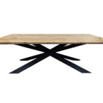 Stół dębowy rozkładany Paradise. Stół prostokątny do nowoczesnej jadalni i kuchni. Stoły nowoczesne na zamówienie.