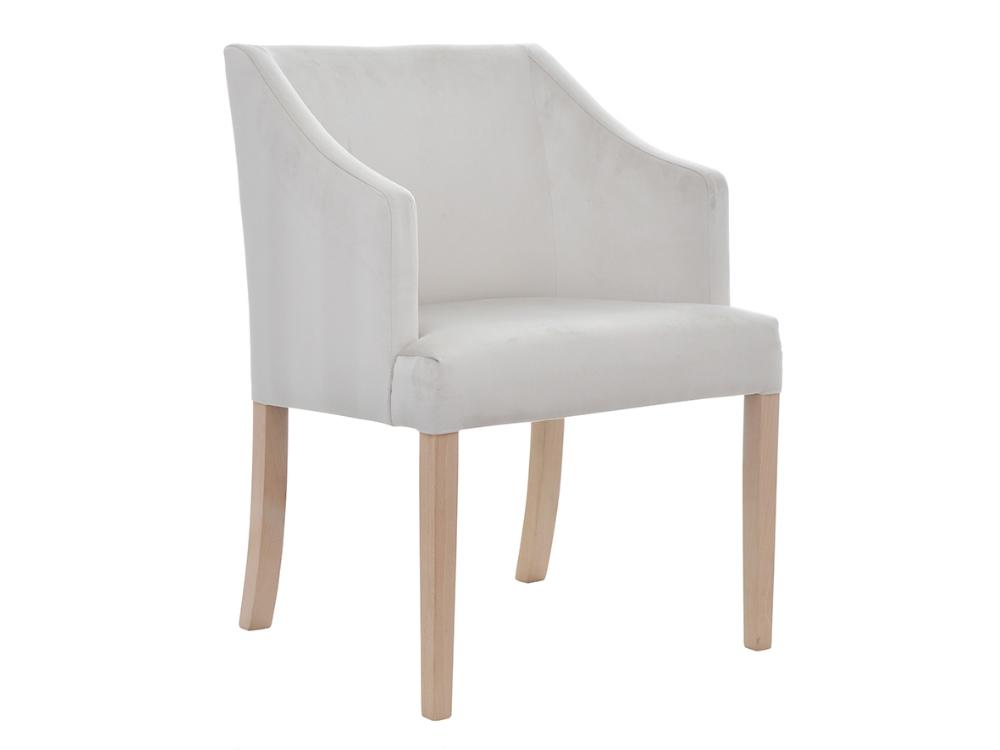 Fotel tapicerowany z podłokietnikami Sky. Możliwość wyboru tkaniny i koloru nóżek. Fotele tapicerowane w stylu nowojorskim Białystok.