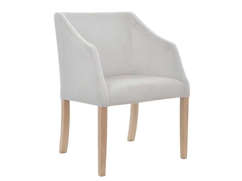 Fotel tapicerowany z podłokietnikami Sky II. Możliwość wyboru tkaniny i koloru nóżek. Fotele tapicerowane w stylu nowojorskim Białystok.