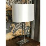 Lampa stołowa w stylu nowojorskim Jupiter