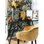 Konsola drewniana Zoya z metalowymi nogami. Konsola przyścienna do przedpokoju i salonu w stylu nowoczesnym na zamówienie.