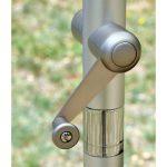 Parasol ogrodowy Casilda osadzony na solidnej, aluminiowej nodze.Parasol do ogrodu i na taras będzie idealnym uzupełnieniem letniej aranżacji.