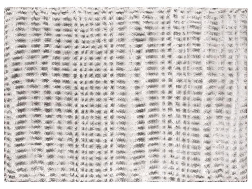 Dywan z wiskozy ręcznie tkany Ana śnieżna biel