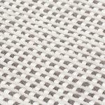 Dywan z wiskozy ręcznie tkaniny Ana w melanżowym kolorze śnieżnej bieli i beżu ekskluzywna kolekcja 2