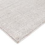 Dywan z wiskozy ręcznie tkaniny Ana w melanżowym kolorze śnieżnej bieli i beżu ekskluzywna kolekcja