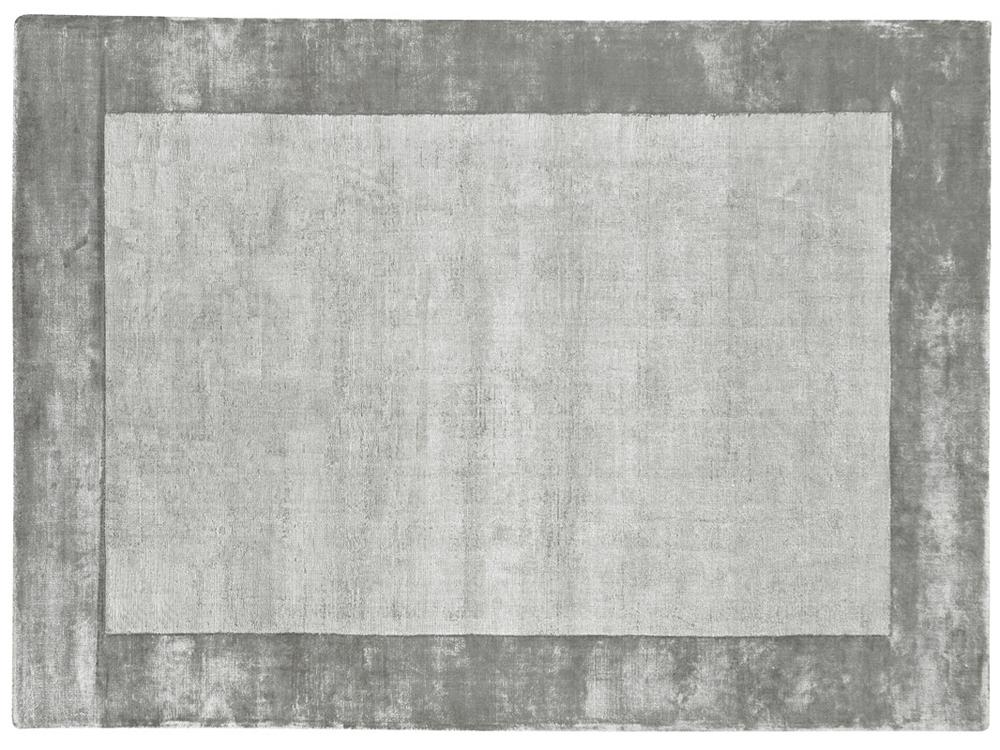 Dywan Z Wiskozy Ręcznie Tkany Aracelis Paloma Szary