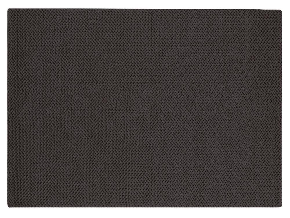 Piękny dywan ręcznie tkany bawełniany Bellen Charcoal ciemny szary