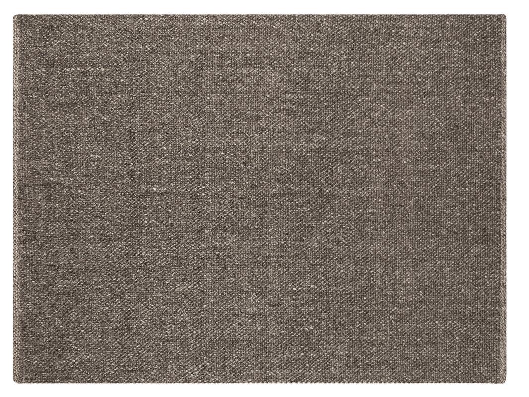 Super Dywan wełniany ręcznie tkany Catalina Natural Raven brązowy | Pasadena ZT45