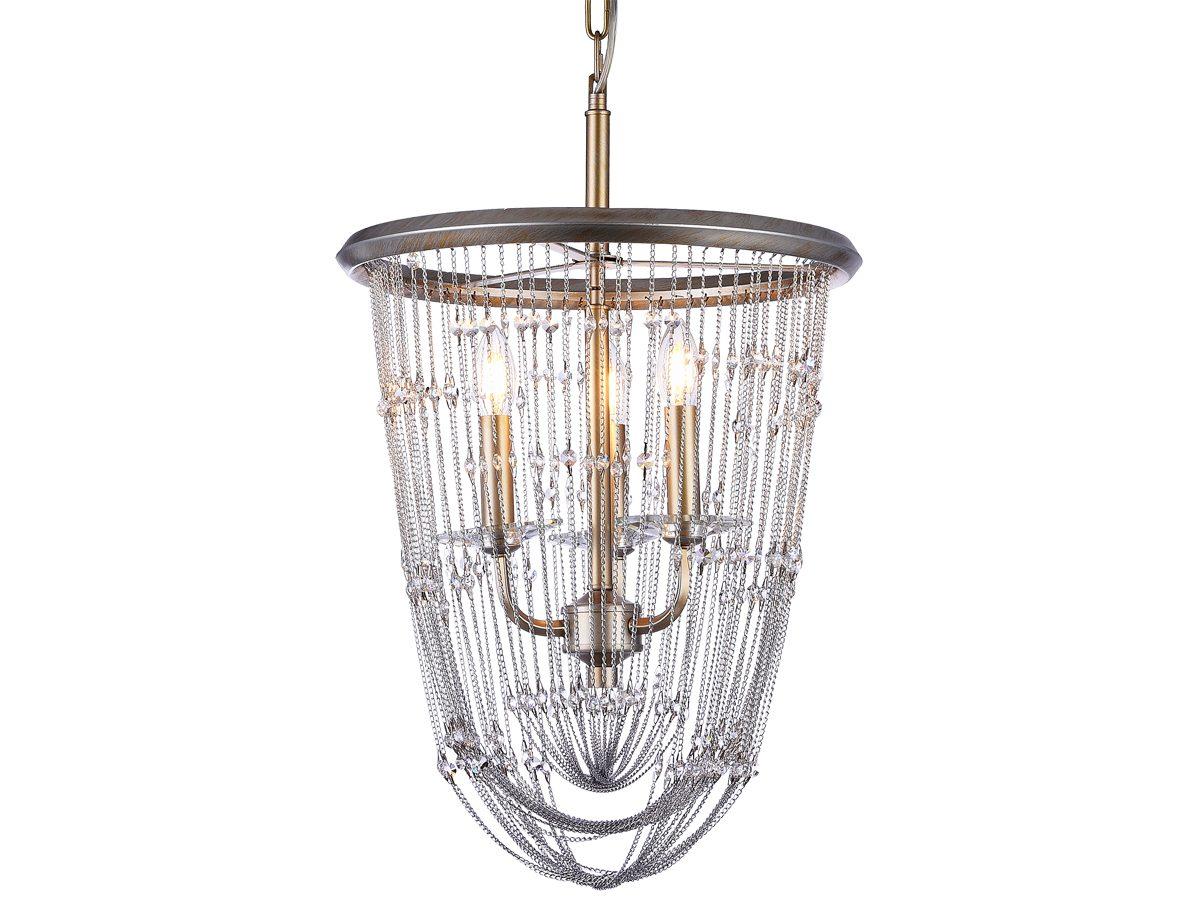 Lampa wisząca do salonu w stylu glamour Pueblo.