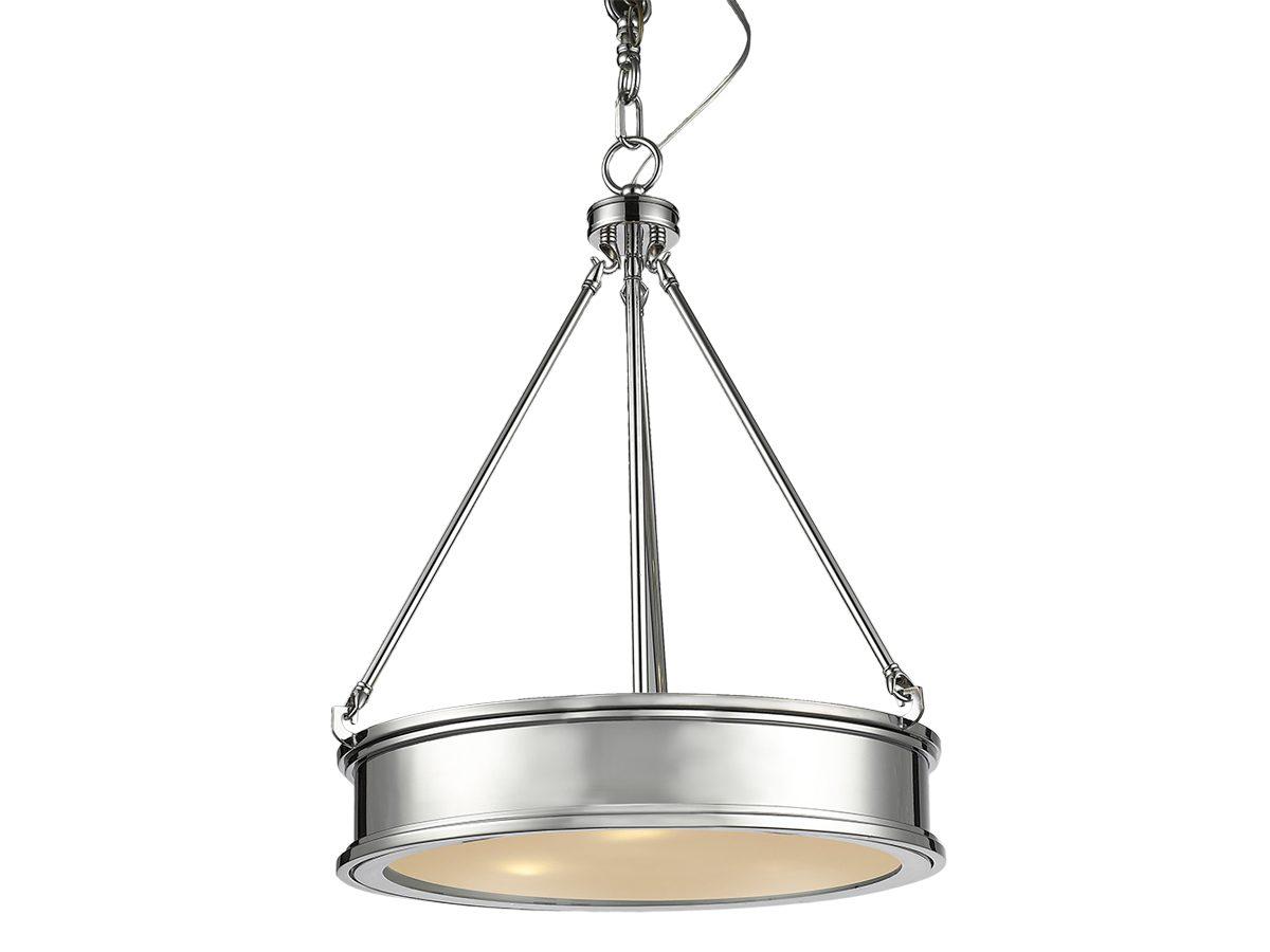 Lampa wisząca do salonu w stylu nowojorskim Hampton 6.