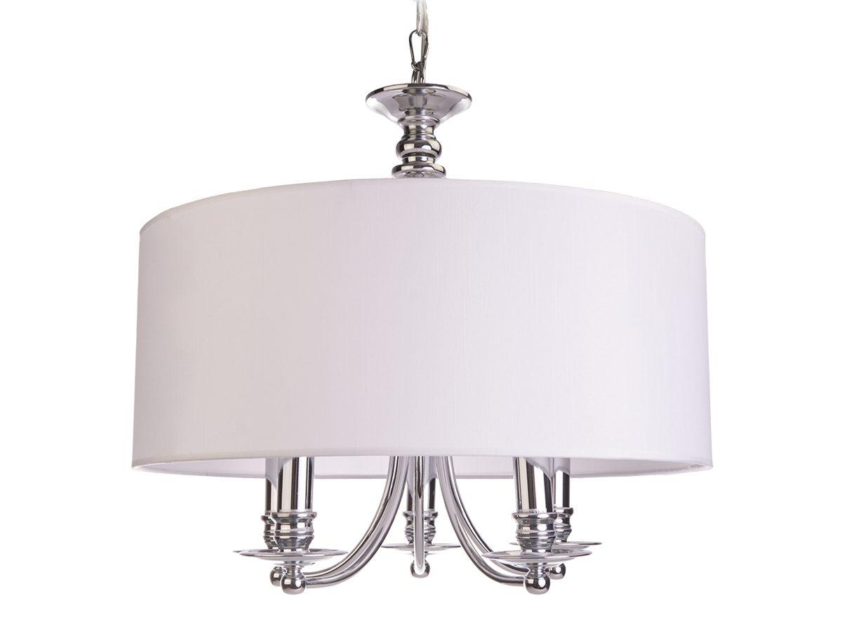 Lampa wisząca w stylu nowojorskim Spencer 1 biały
