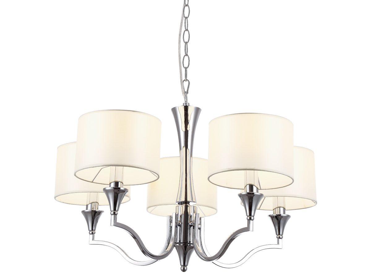 Lampa wisząca Gwen idealnie nada się do salonu w stylu New York / Hamptons.