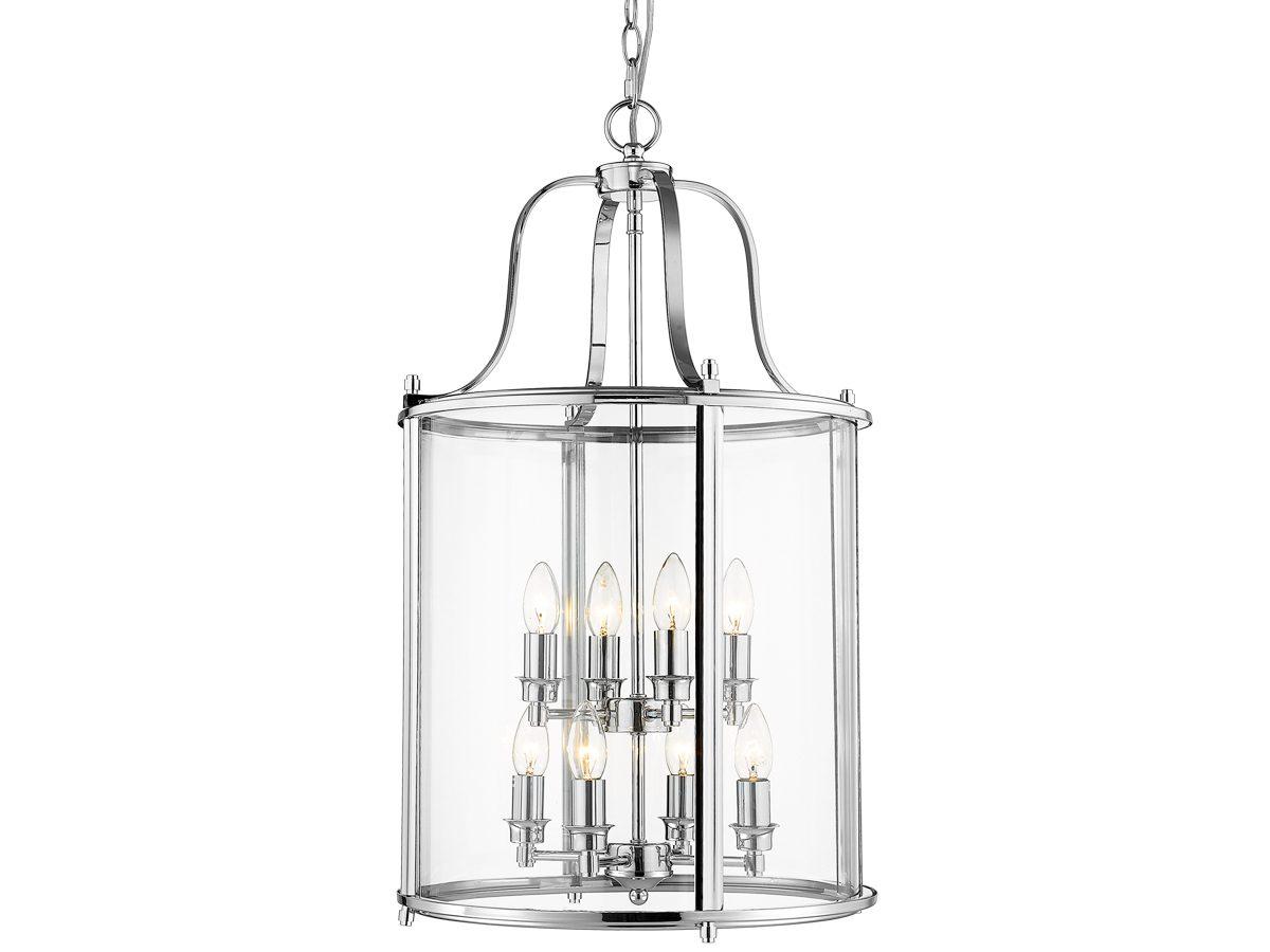 Lampa wisząca do salonu w stylu nowojorskim Hampton 1.