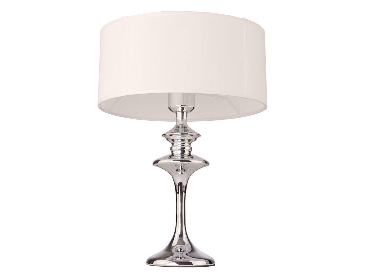 Lampa stołowa z abażurem. Idealna do salonu, przedpokoju, sypialni w stylu nowojorskim i Hamptons.
