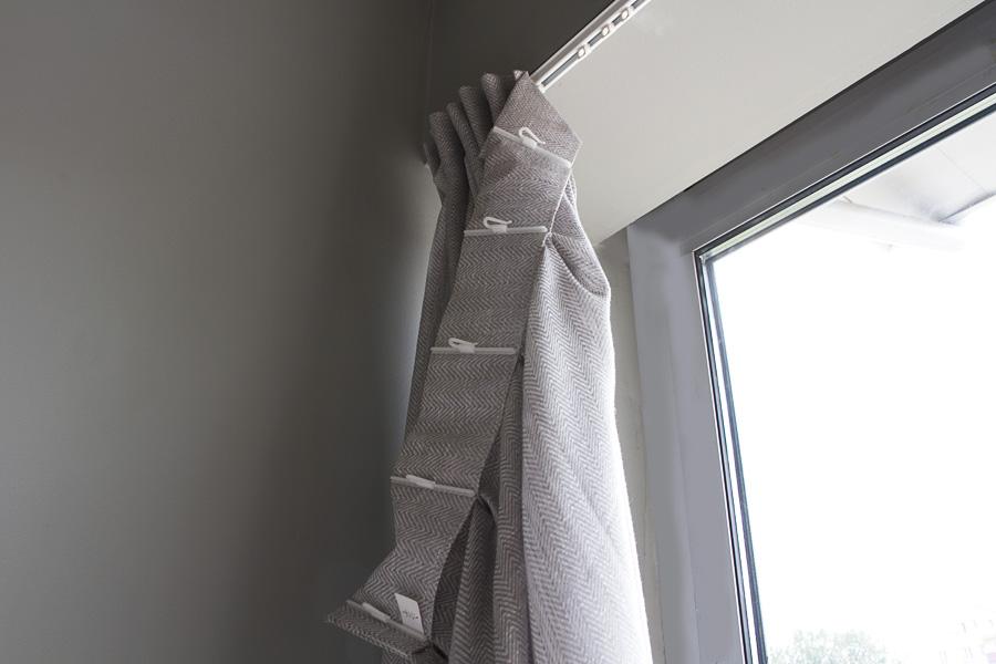 haczyki fleks flex w zasłonie