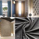 Tkanina dekoracyjno obiciowa welur plusz o szer. 280cm Bravo Velvet, materiał na zasłony, poduszki, panele i meble tapicerowane. O subtelnym połysku.