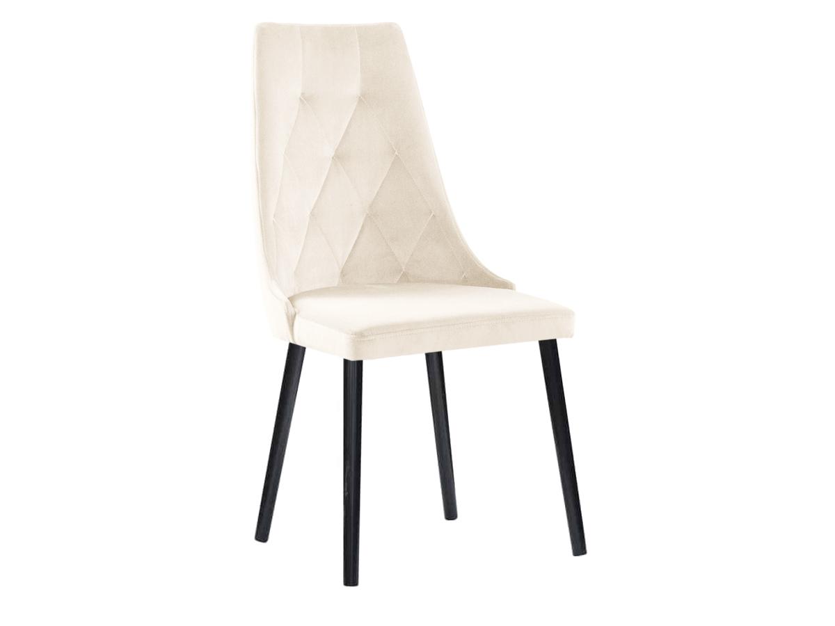 Krzesło pikowane Valentino Wood. Krzesło welurowe do nowoczesnej jadalni. Krzesła tapicerowane na zamówienie Białystok.
