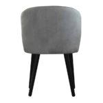 Krzesło nowoczesne Atena na drewnianych nogach.
