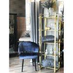 Krzesło glamour Salvador do wnętrz stylu nowoczesnym i glamour.