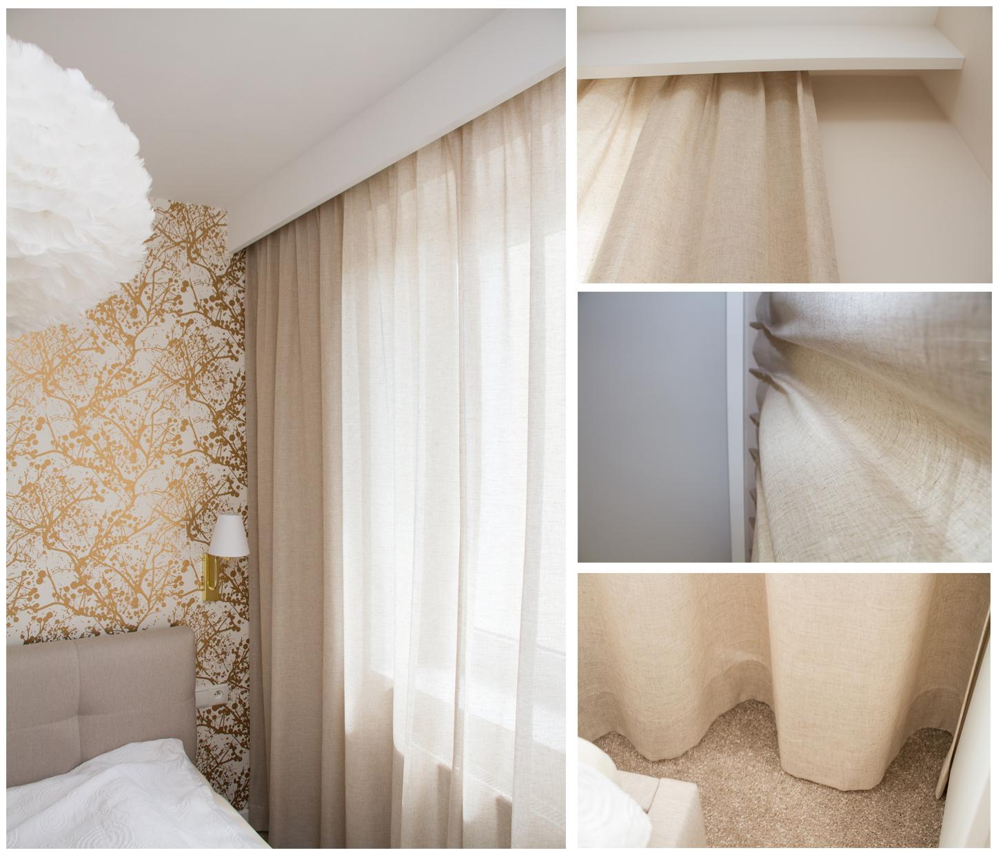 Jak przygotować projekt wnętrza, pod system dekoracji okiennych?