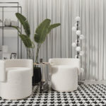 Dywan łatwoczyszczący Blanche Purez kolekcji Magic Home Fargotex. Dywan do salonu i sypialni w stylu nowoczesnym i modern classic.