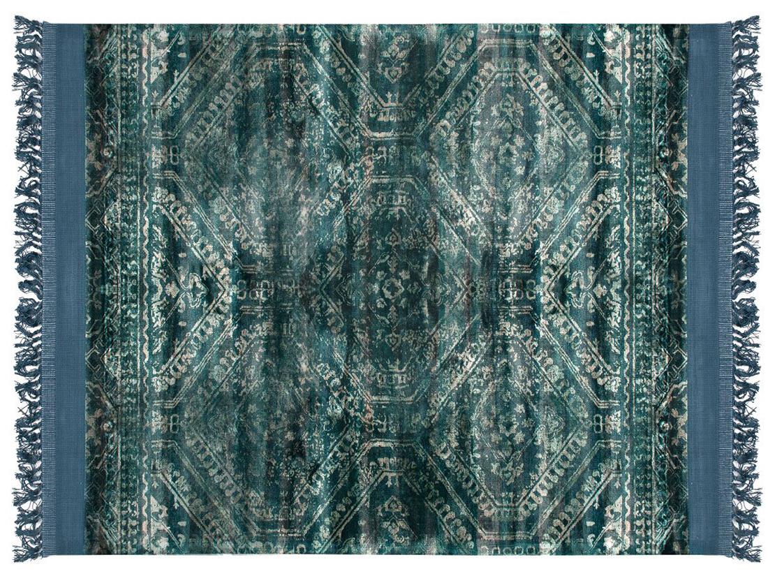 Dywan z wiskozy ręcznie tkany Blush Black Coffee z frędzlami. Ekskluzywna kolekcja, stworzona z naturalnych materiałów takich jak wiskoza, wełna i bawełna.