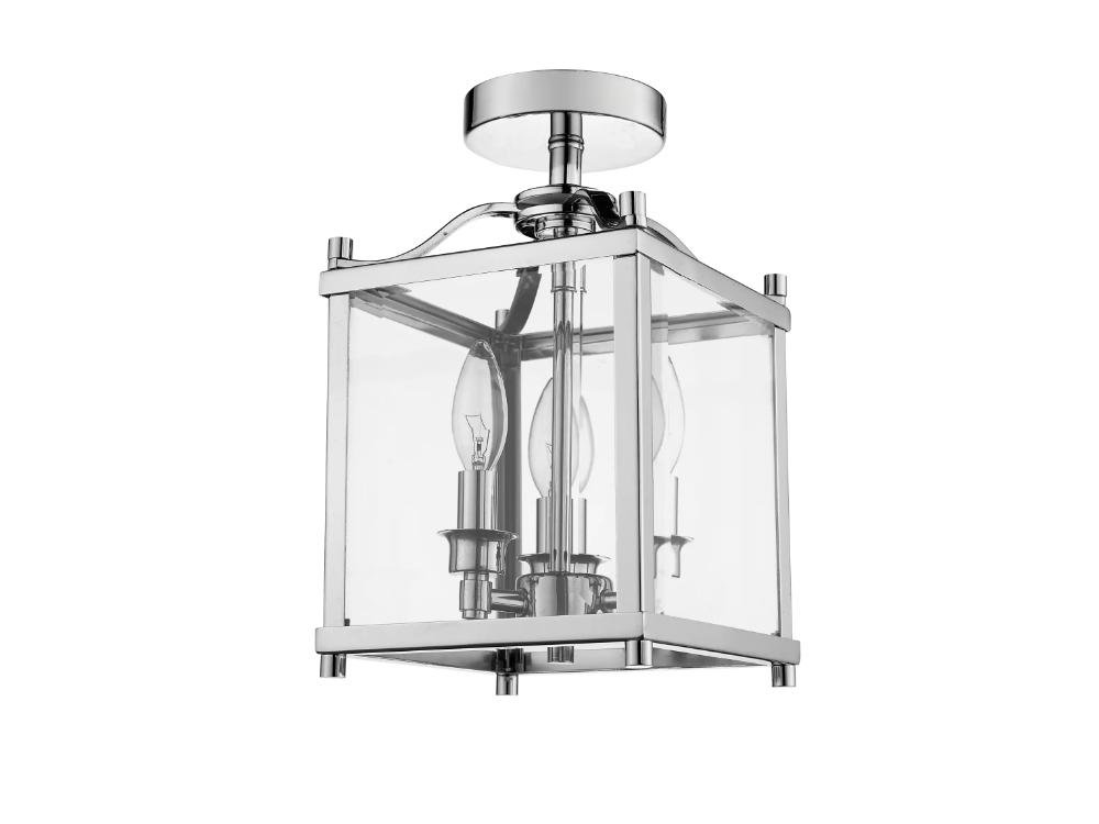 Plafon szklany w stylu nowojorskim Hampton 8 pasuje do nowoczesnego salonu lub przedpokoju. Żyrandol pasuje do kinkietu z kolekcji Hampton 8.