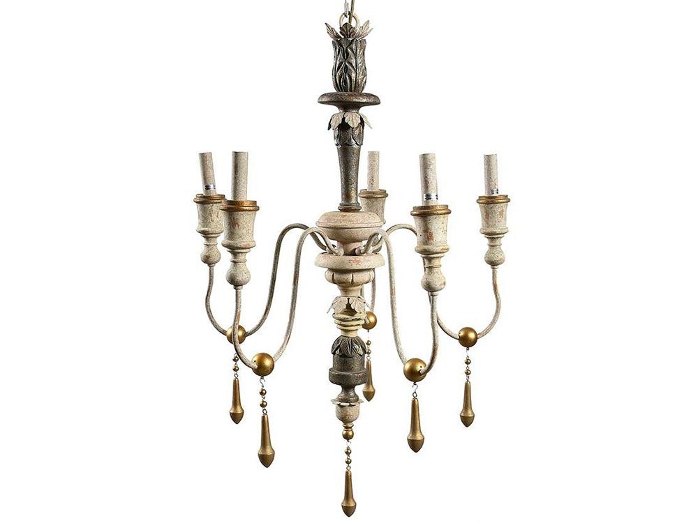 Żyrandol z koralikami Vintage 9 pasuje do salonu lub przedpokoju w stylu rustykalnym oraz vintage. Lampa z koralików na zamówienie.