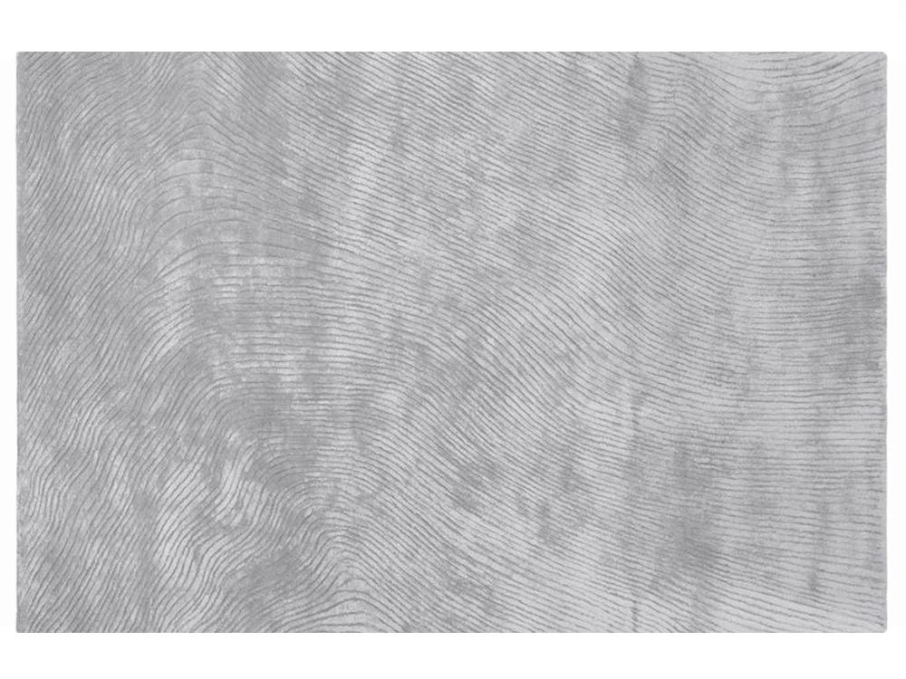 Dywan Z Wiskozy Ręcznie Tkany Canyon Silver By Maciej Zień