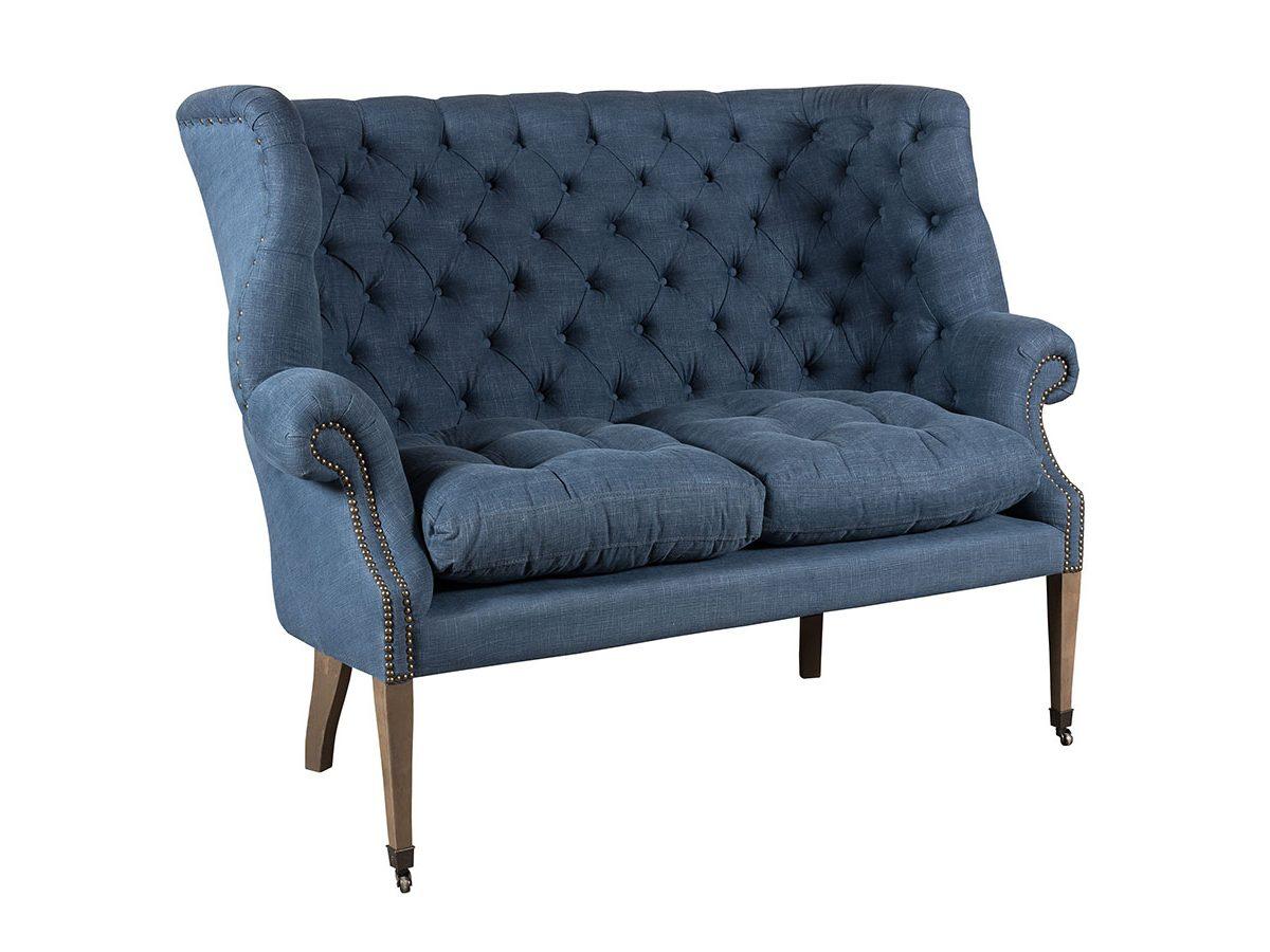 Fotel bawełniany w stylu nowojorskim.