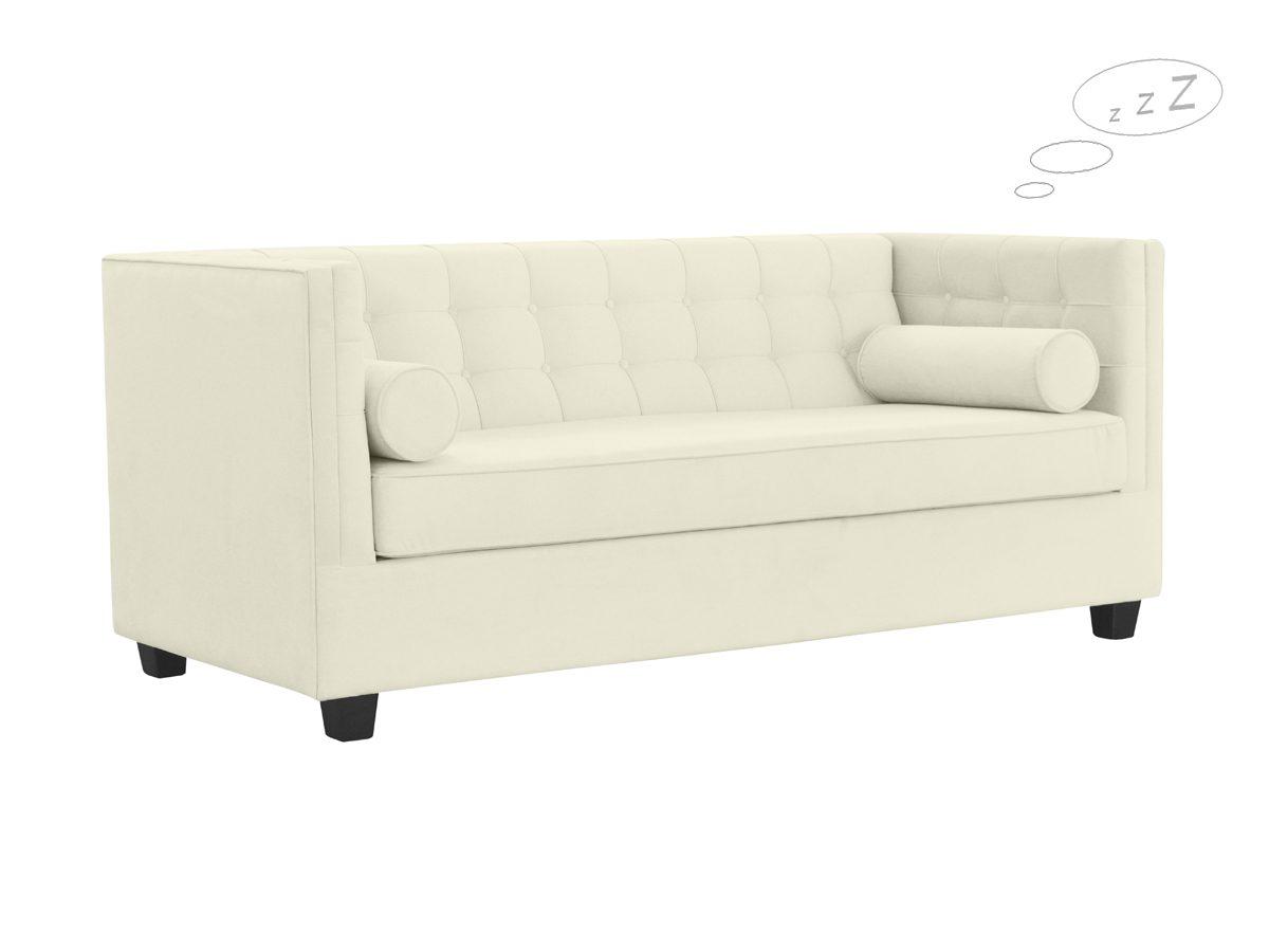 Sofa tapicerowana rozkładana Rockford pasuje do salonu w stylu nowoczesnym i nowojorskim. Sofy tapicerowane na zamówienie Białystok.