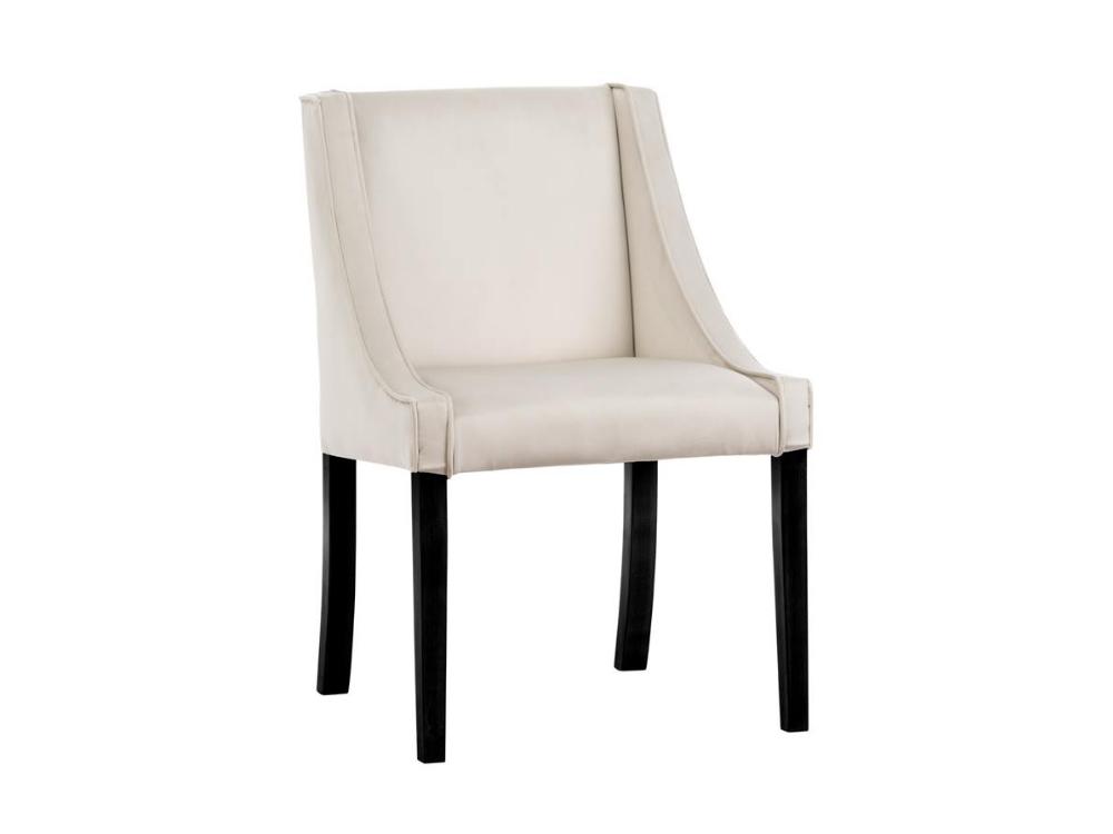 Krzesło do jadalni Lauren do wnętrz stylu nowoczesnym oraz modern classic. Krzesło tapicerowane z możliwością wyboru tkaniny.