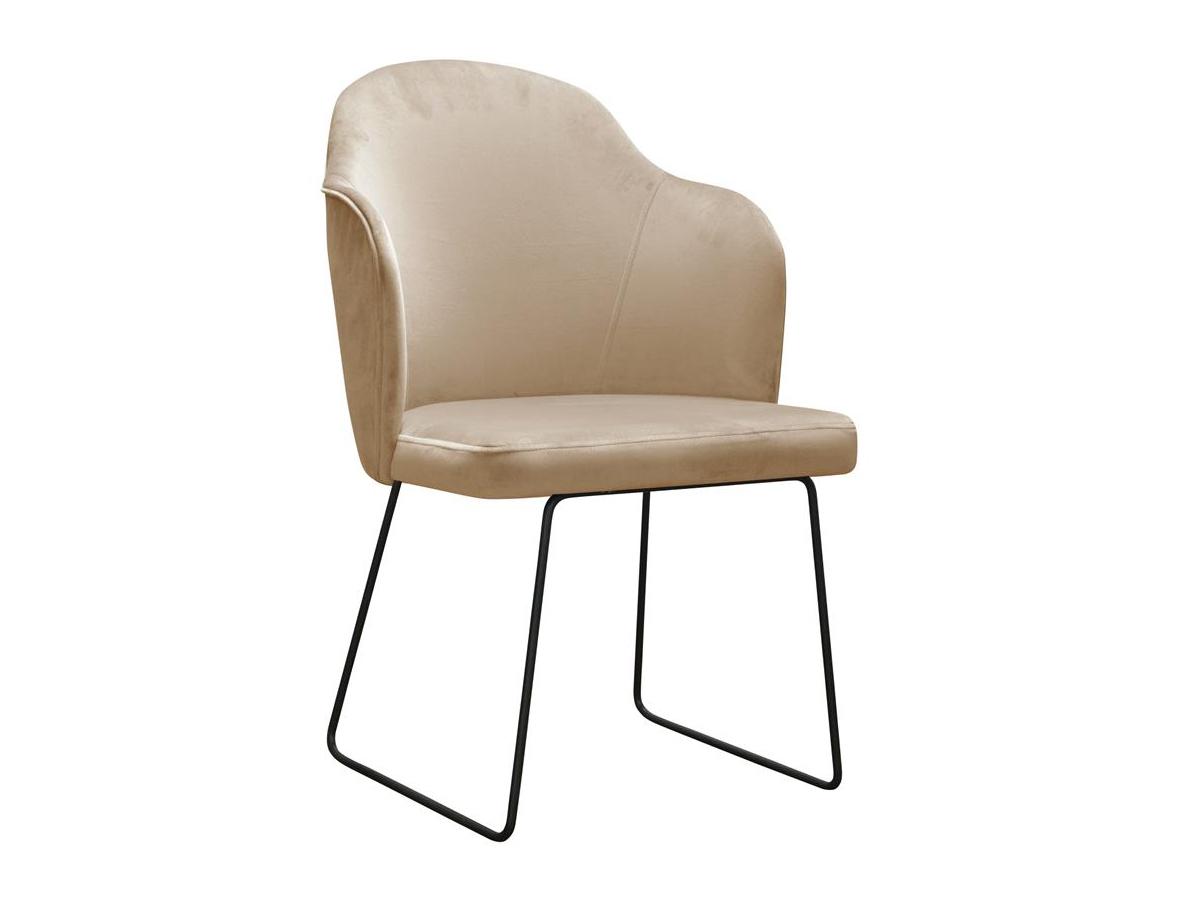 Krzesło nowoczesne Scarlett na metalowych nogach. Nowoczesne krzesła tapicerowane do jadalni są dostępne na zamówienie w showroomie Pasadena home & deco.