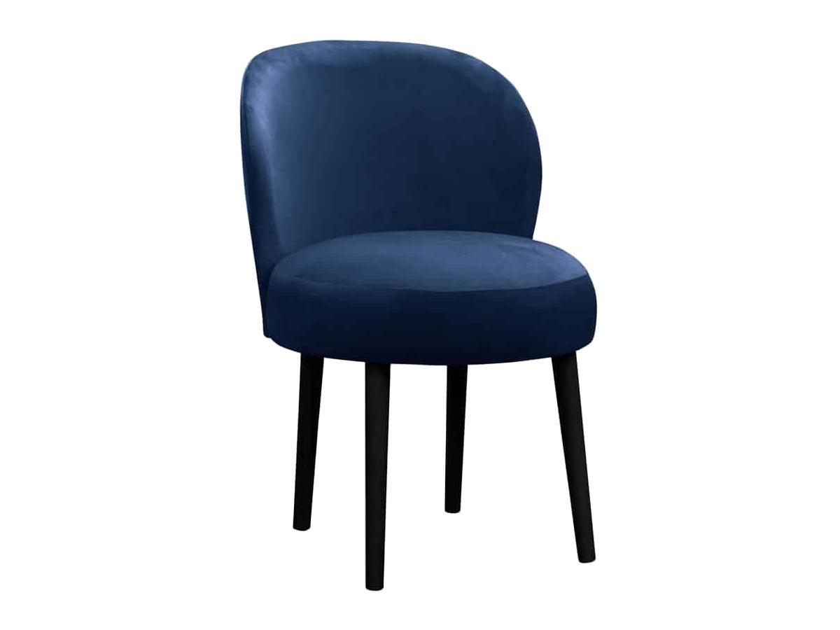 Krzesło do stołu Bobby na drewnianych nogach. Nowoczesne krzesła tapicerowane do jadalni są dostępne na zamówienie w showroomie Pasadena home & deco.