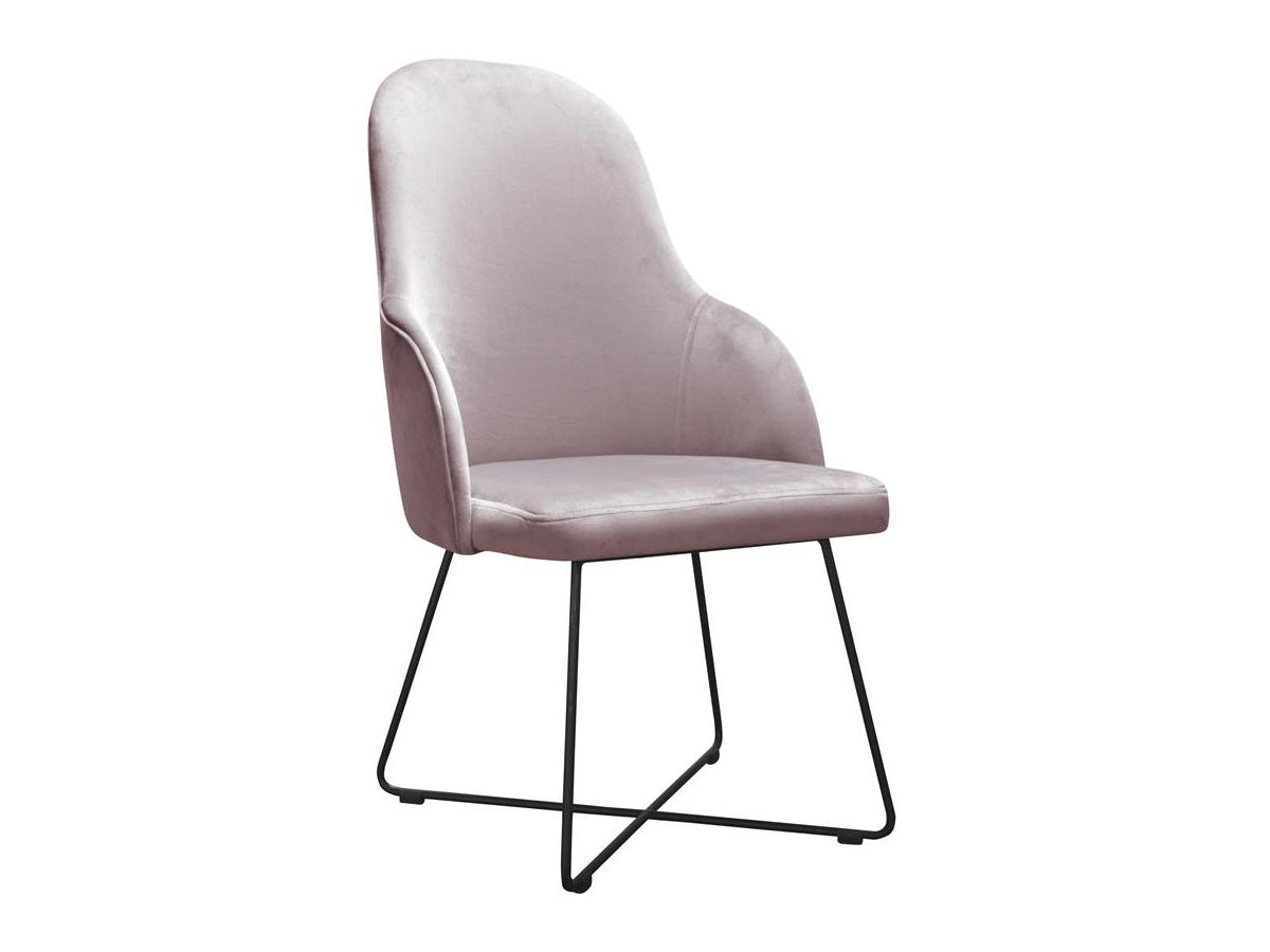 Krzesło nowoczesne Eva na metalowych nogach. Nowoczesne krzesła tapicerowane do jadalni są dostępne na zamówienie w showroomie Pasadena home & deco.