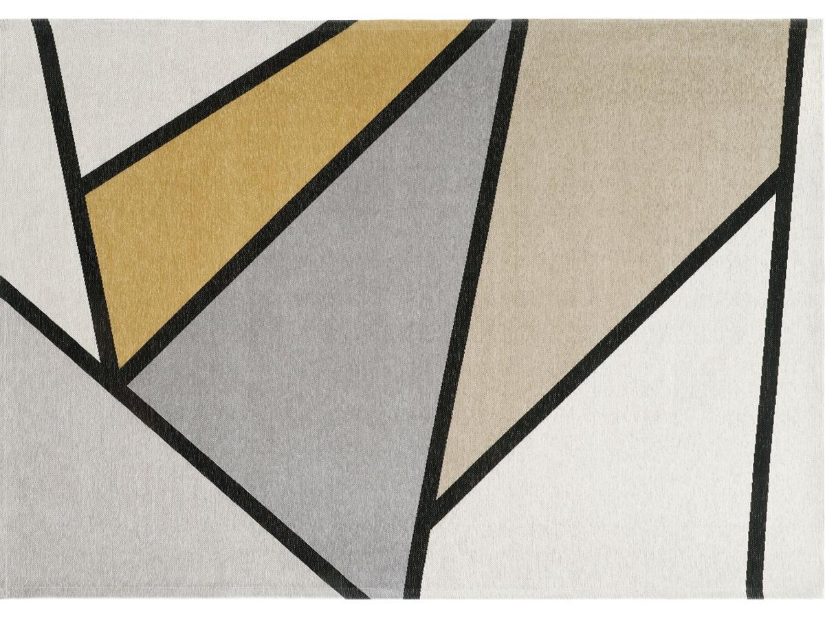 Dywan łatwoczyszczący Ingrid Yellow z kolekcji Magic Home Fargotex. Dywan do salonu i sypialni w stylu nowoczesnym i modern classic.
