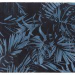 Dywan łatwoczyszczący Jungle Blue z kolekcji Magic Home Fargotex.Dywan do salonu i sypialni w stylu nowoczesnym i glamour.