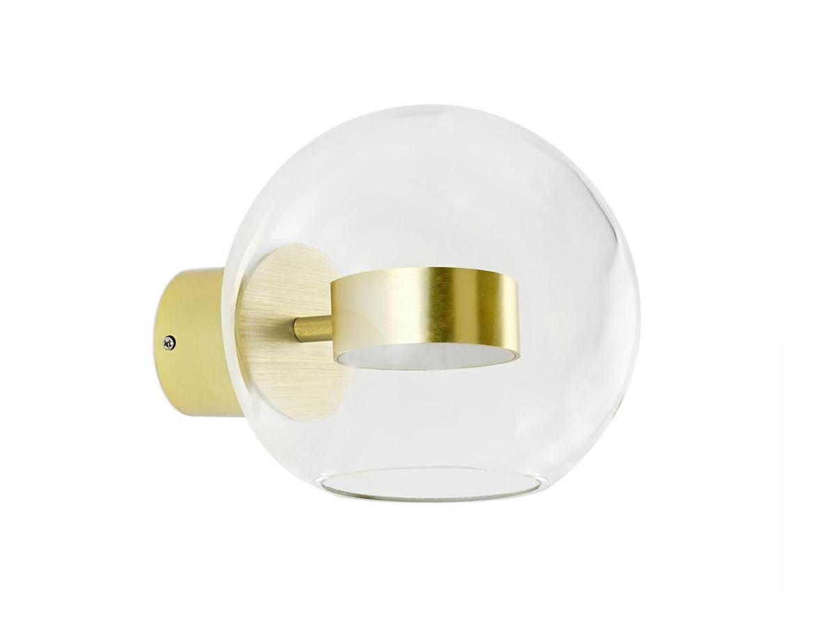Kinkiet kula Bulle inspirowany projektem Bubble Chandelier. Oświetlenie ścienne do salonu jadalni, przedpokoju w stylu nowoczesnym.