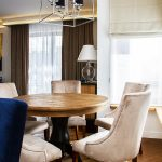 Krzesło tapicerowane styl nowojorski Lady