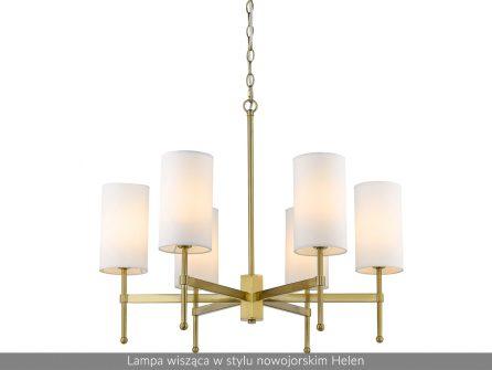 Lampa wisząca w stylu nowojorskim Helen