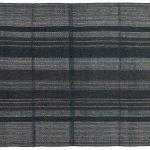 Piękny dywan wełniany ręcznie tkany Norton Indigo o grubym pętelkowym splocie. Ekskluzywna kolekcja, stworzona z naturalnych materiałów.
