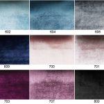 Zjawiskowa tkanina obiciowa Onyx. Aksamitna o mocno połyskującej strukturze, mieniąca się różnymi odcieniami. Materiał tapicerski w stylu Glamour.