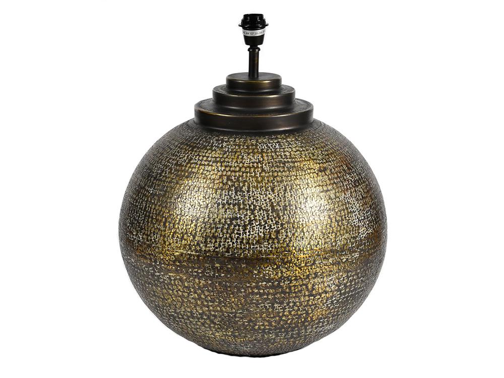 Lampa stołowa w kształcie kuli w stylu Vintage.