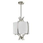 Lampa z abażurem Florence do salonu i sypialni w stylu nowoczesnym lub modern classic. Nowoczesne lampy sufitowe Białystok.